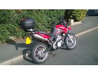 Aprilia Pegaso Trail 650 (2007) - low mileage + GPS, heated grips, topbox & paddock stand (REDUCED)