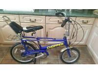 Raliegh chopper boys bike