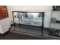 Black Retail Display Unit