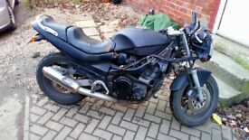 Suzuki Gsx600f make good project does run spares or repairs £400ono
