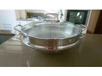 MWF Macao WOKset 2 pieces Stainless steel 36cm