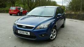 59 plate Ford Focus 1.6 Zetec very low mileage 56000 mile