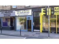 EDINBURGH SHOP TO RENT LONDON ROAD £600/MONTH NO DEPOSIT - NO EXTRA COSTS
