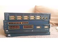 Selection of 5 Cisco Routers/Switches
