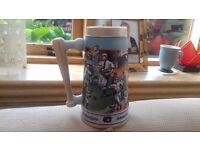 Unusual collectable numbered stein
