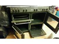 7 burner range cooker with hood and all accs
