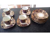 Copelands China coffee set x 4 cups