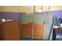 Double bed/ four poster