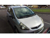 Honda Jazz 2003, silver, for sale from owner, clean, good condition. Reduced price!