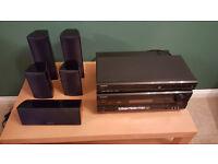 ONKYO 5.1 Surround Sound System, inc AV Receiver, DVD player & speakers
