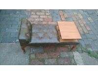 small sofa withvcoffe table