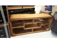Solid Wood TV/ Side Unit