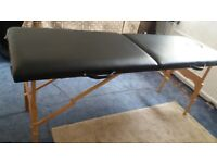 Folding Holistic Massage Couch