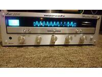 Marantz 2216 stereo amplifier / receiver / vintage / silver