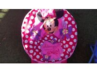 Used Minnie Mouse Folding Chair