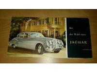 Jaguar Prospekt Sammlung Niedersachsen - Braunschweig Vorschau
