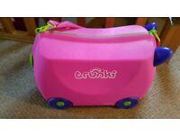 Trunki ride on suitcase.
