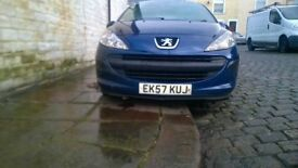1 OWNER PEUGEOT 207 1.4 BARGAIN!! IDEAL 1ST CAR