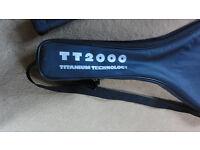 LE COQ SPORTIF TITANIUM TECH TT2000 OVERSIZE TENNIS RACKET RACQUET RARE FRENCH NEW CONDITION URGENT