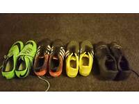 Adidas and Nike football boots in 6.5/7 size