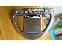 BRAND NEW YES STEPHANIE C GROOVE PUTTER.