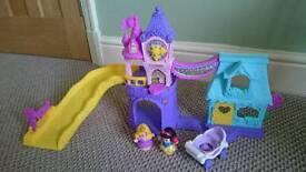 BN Disney Princess Little People Castle