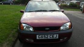 2002 MK2 FIESTA-GOOD ONE FOR THE AGE-LOW MILE