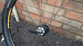 Bicycle wheels 27.5
