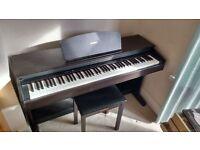 Yamaha YDP 121 Digital Piano with stool