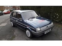 1988 AUSTIN METRO MAYFAIR BLUE - STEERING WHEEL SIGNED GLENN GREGORY - HEAVEN 17