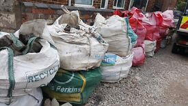 cobblestones for driveways etc.approx 18xbulk bags