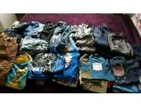Big bundle boys 8-10 years clothes and winter coat