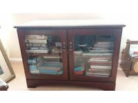 Free - TV Cabinet with Glass Front