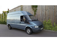 Ford Transit 350 LWB TD (2003/53) + Long Wheel Base + P/Plate + 11 Months MOT + FSH + NO VAT +