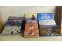 Box of 6 Books on Hillwalking