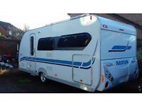 ADRIA ADIVA 540 UL mega RARE up & over fixed bed with garage 2008m