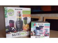 SALTER NUTRI PRO 1000 BLENDER W/ACC PACK NEW BOXED