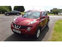 NISSAN JUKE 1.5 TEKNA DCi,(60)Plate,Black Leather,Sat Nav,Cruise,Air Con,Park Sensors,Low Miles,FSH