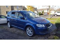 ***STUNNING VW TOURAN*** VW SERVICE HISTORY, Genuine Mileage, S3 alloys, new pirelli tyres .