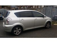 TOYOTA VERSO 1.8 VVTI T3 PETROL 7 SEATER MPV 109,000 ( MILES MUST GO THIS WEEK NEED THE SPACE )