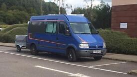 Renault master 4 berth campervan