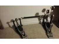 Pearl Eliminator double kick pedal, chain drive