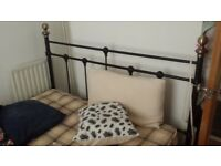 Double Bed Frame (& Mattress)