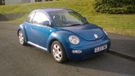VW New Beetle 2003 2.0l - Custom interior