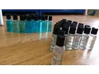 Shampoo shower gel, hand soaps