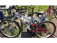 Mens 6 speed mountain bike. Used once.