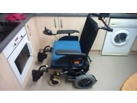 Power Wheelchair from INVACARE -MIRAGE,excellent condition.