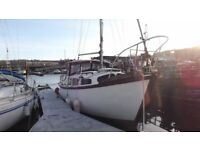 IP24 motor sailer boat