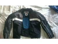 Woman's motorcycle jacket medium
