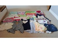 Baby girl clothes in very good condition size :6-9, 9-12, 12-18, Next, M&S, TU, H&M & other